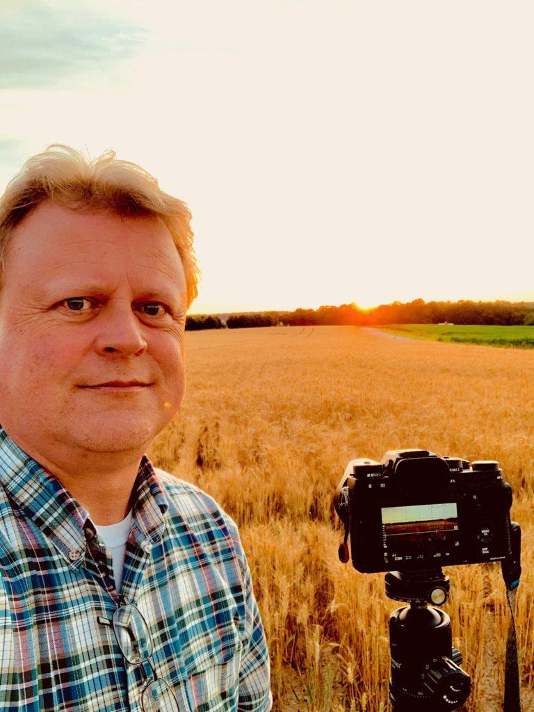 Mark Dodd at Work